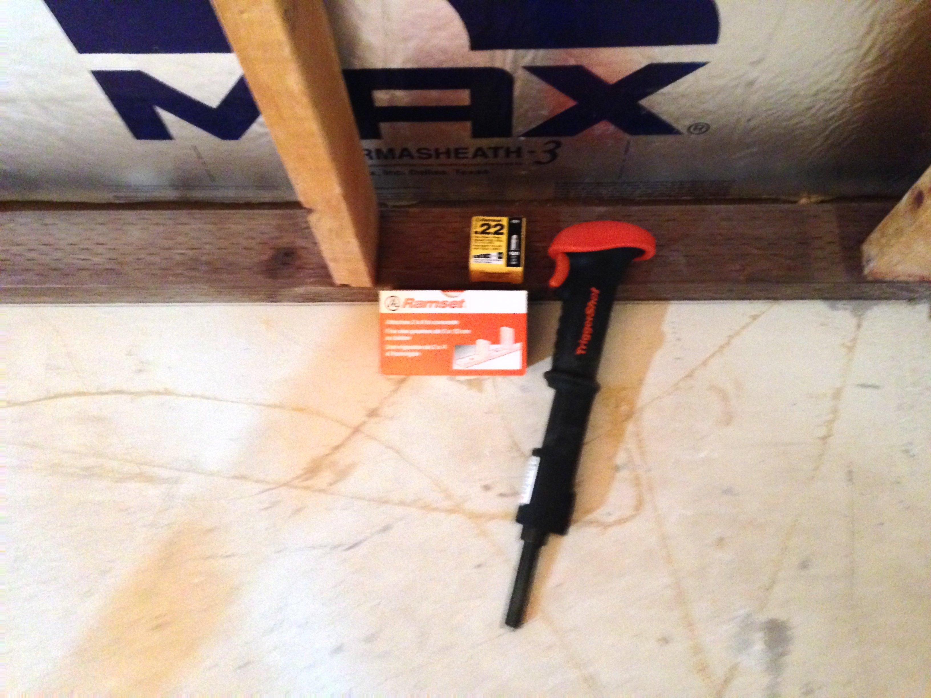 Ramshot nail gun