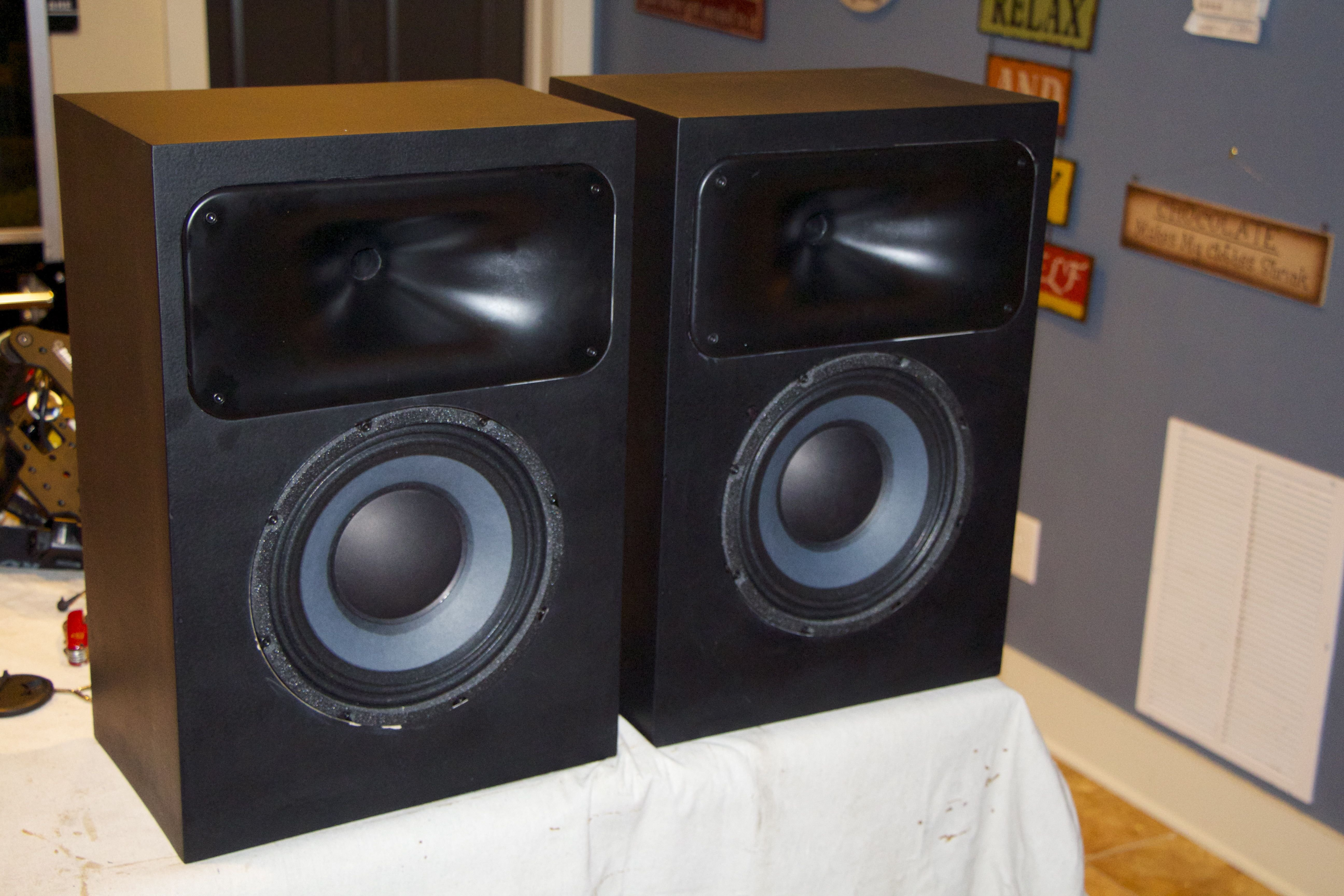 Java's sealed Fusion Max speakers