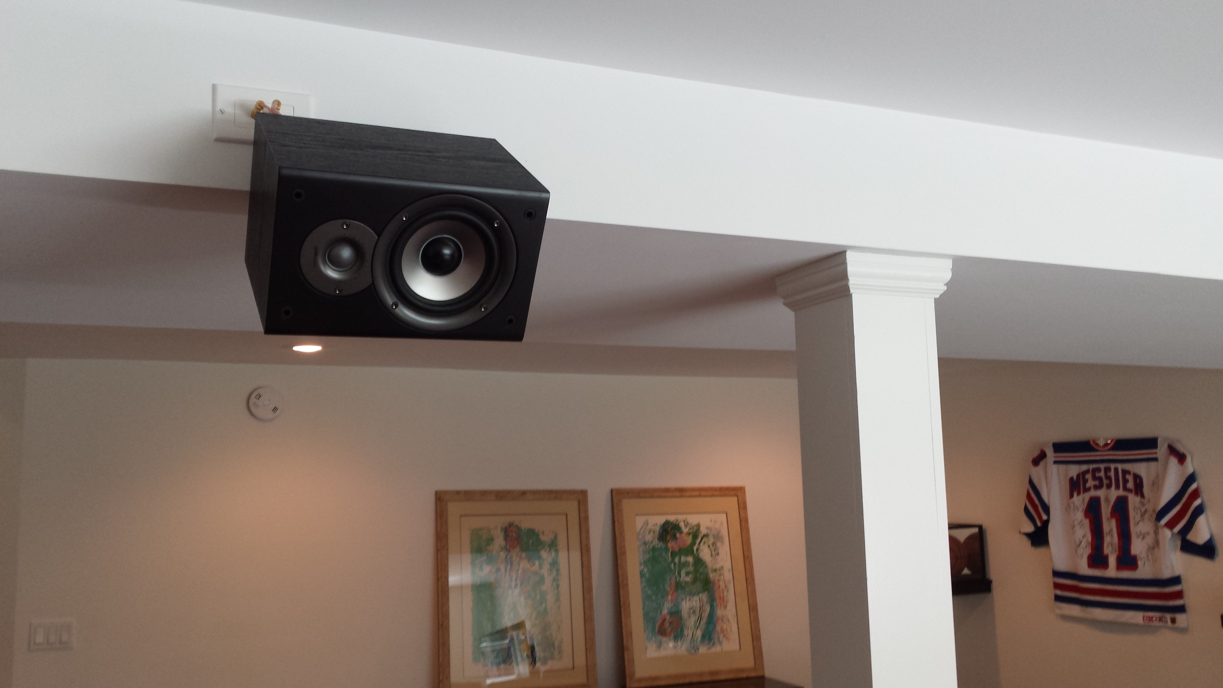week speakers the mount jamo x perience in sound product ceiling of