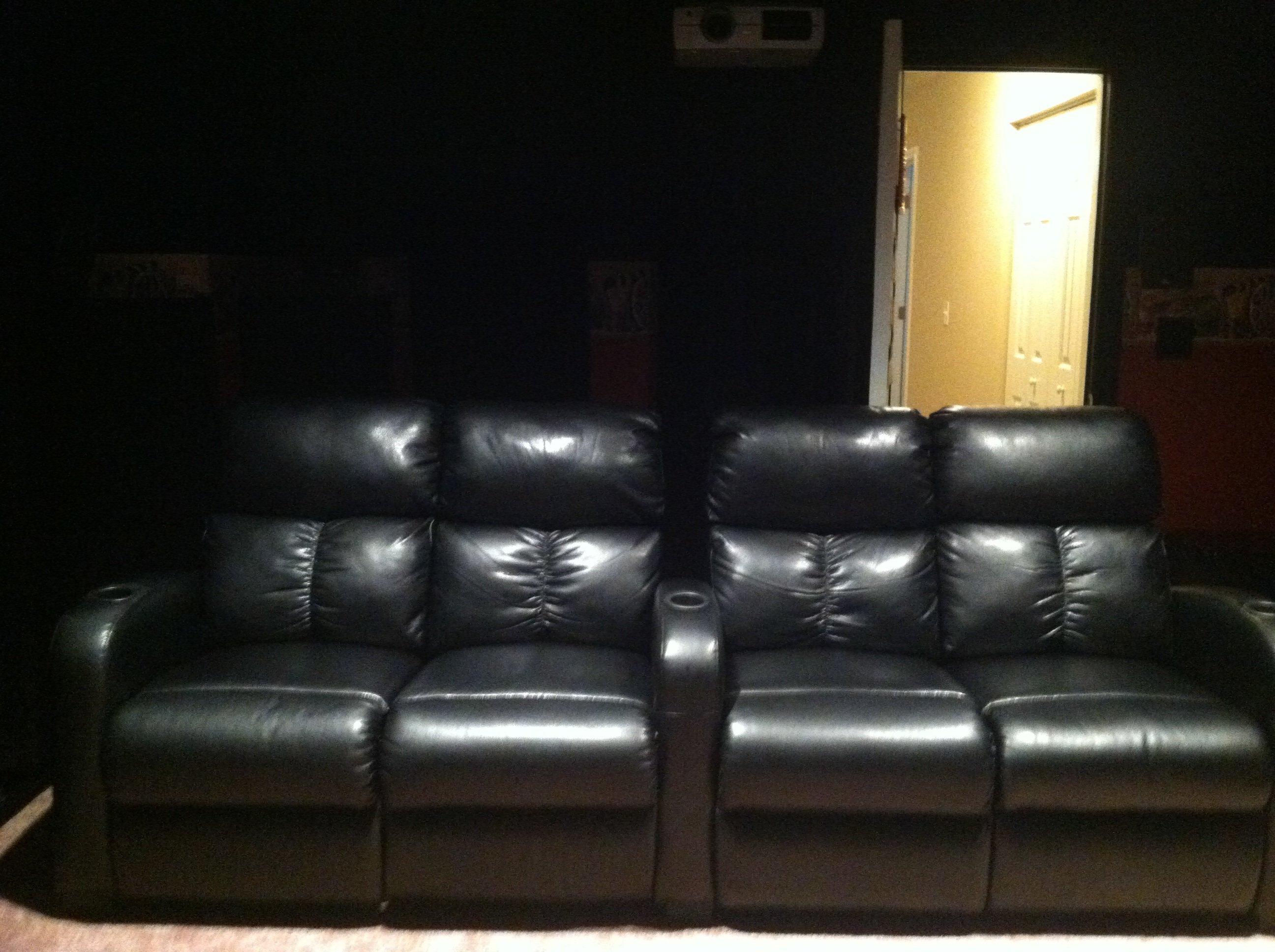 Modding K Mart Theater seats into loveseat AVS Forum