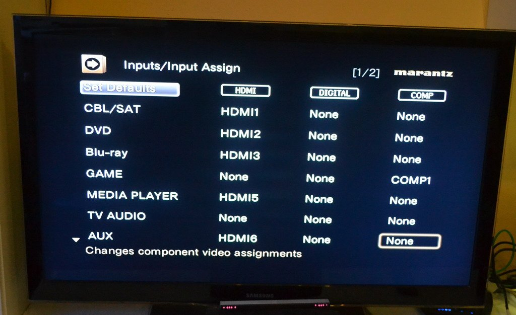 No audio on Marantz SR-6007 - AVS Forum | Home Theater Discussions