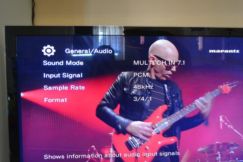 No audio on Marantz SR-6007 - AVS Forum   Home Theater
