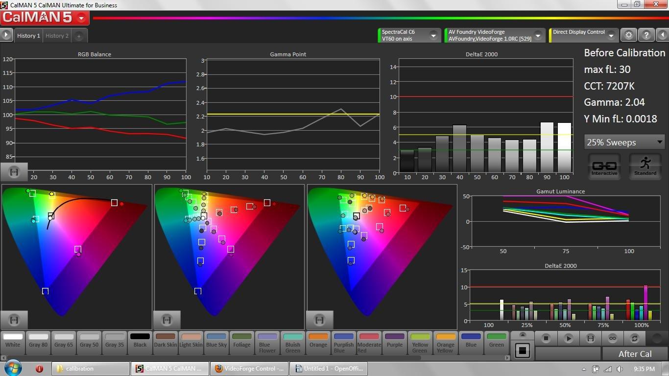Review Panasonic TC-P60VT60 Plasma - Calibration Forums
