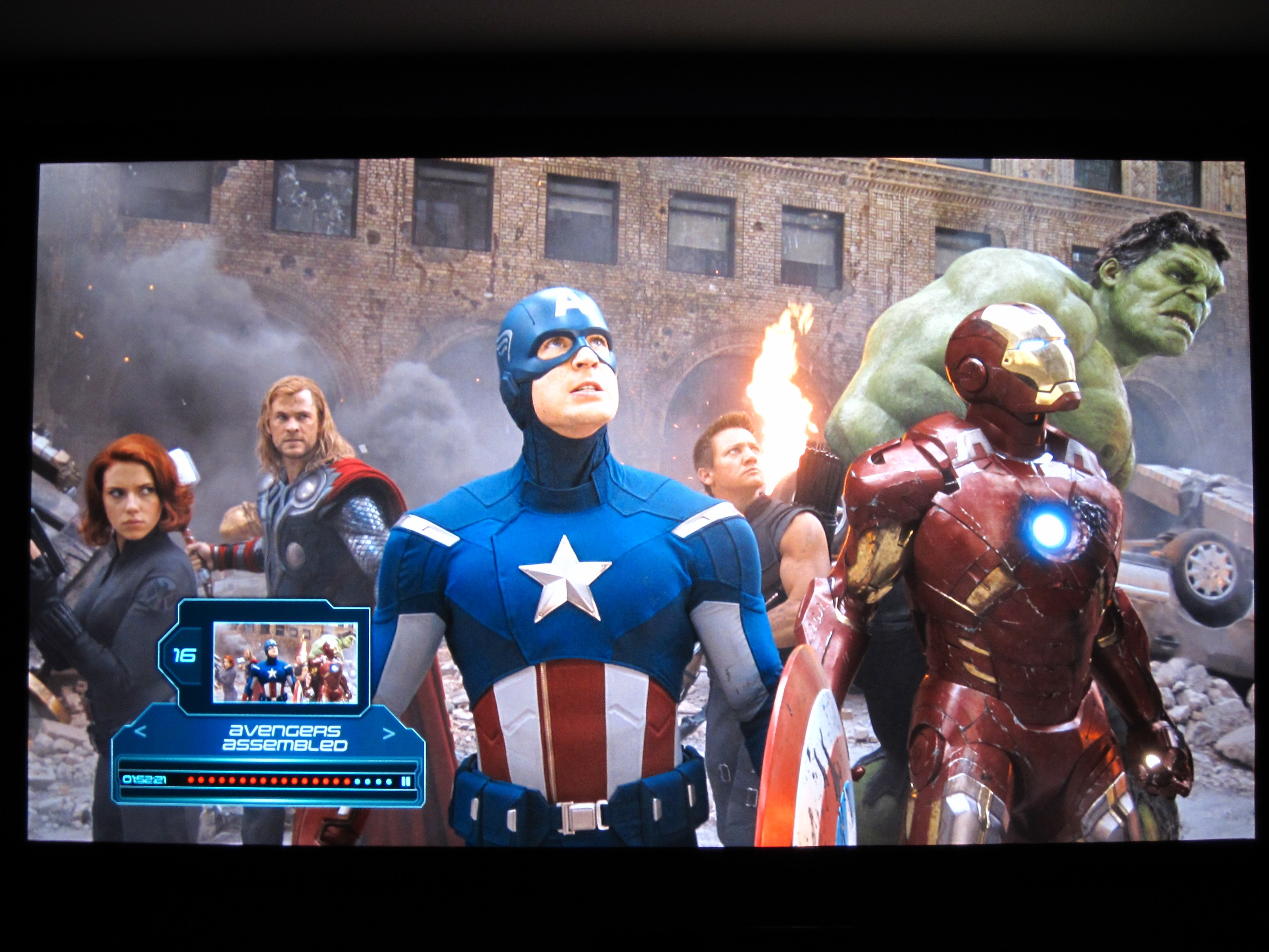 Avengers looks amazing on the new screen