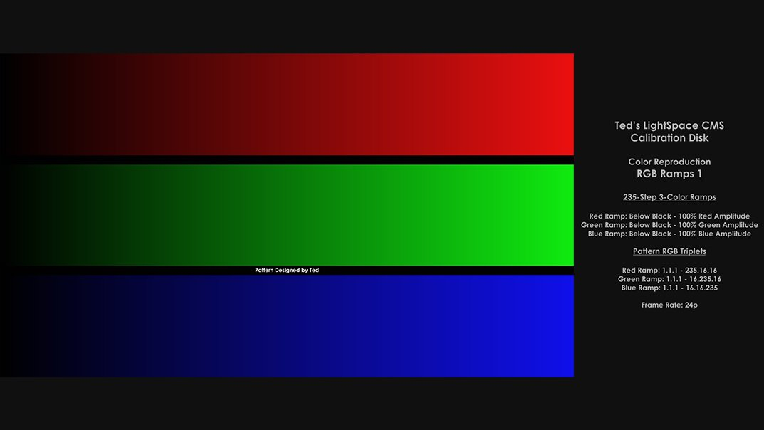 Ted's LightSpace CMS Calibration Disk - Forum AVCesar com