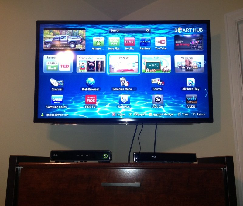 samsung tv sound bar. small stand or tripod for a soundbar? - avs forum | home theater discussions and reviews samsung tv sound bar