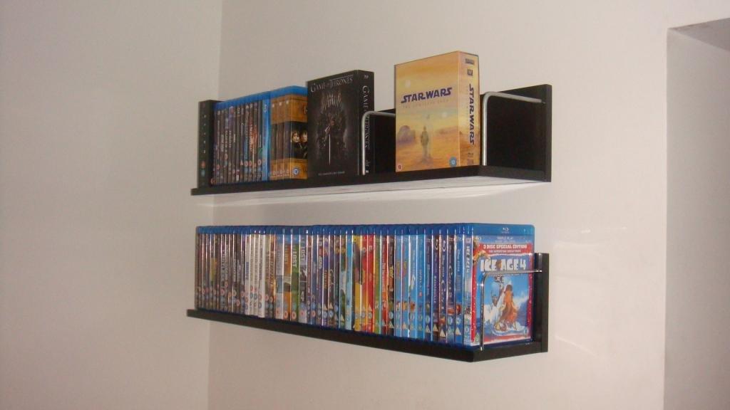 blu ray dvd shelf avs forum home theater discussions and reviews rh avsforum com Floating Cabinet Shelves ikea floating dvd shelves