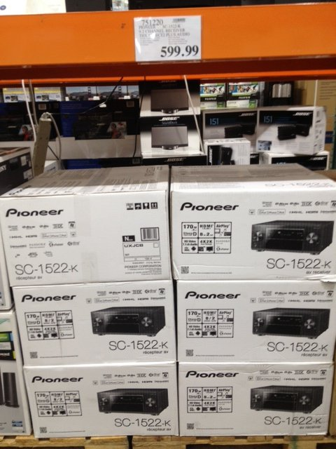Pioneer Sc 1522k For 59999 At Costco Page 7 Avs Forum Home
