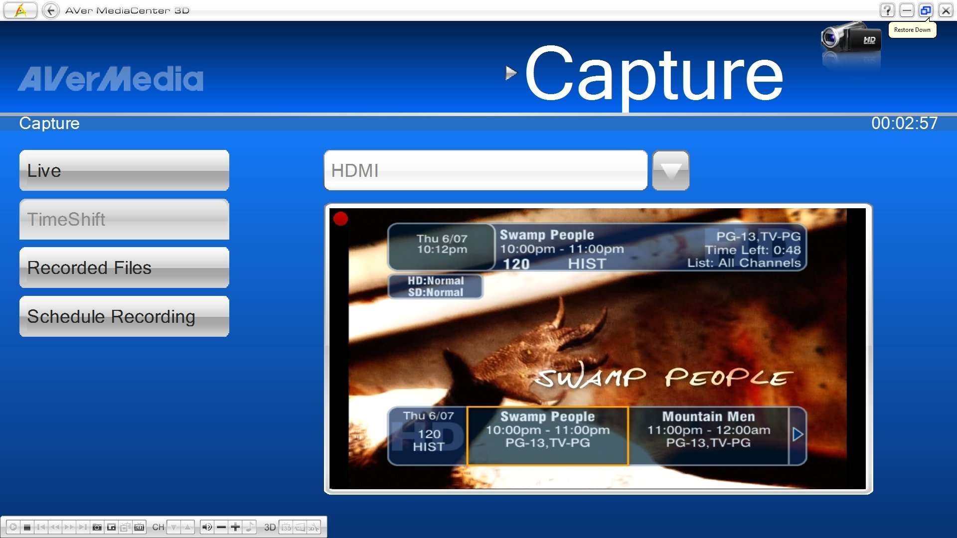 AVerTV HD DVR: New PCIe HD Capture Card - Page 16 - AVS Forum | Home