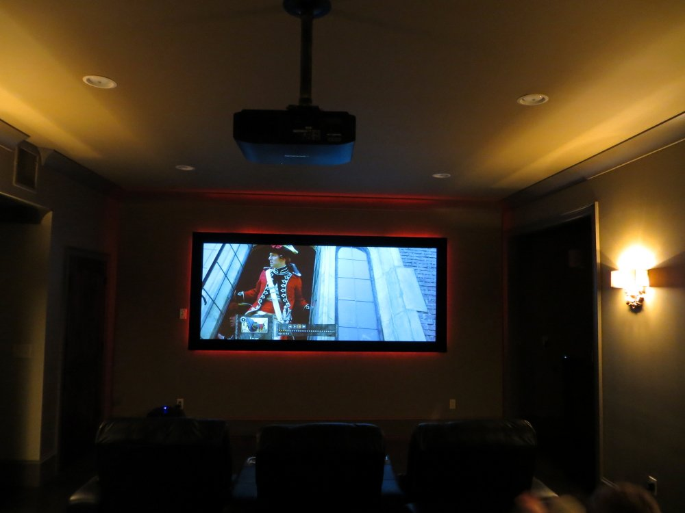 Incandescent rope lighting is not dead avs forum home theater in the first image below as well as the last image in the triple collage show the lighting dimmed at less than 12 full illumination aloadofball Choice Image