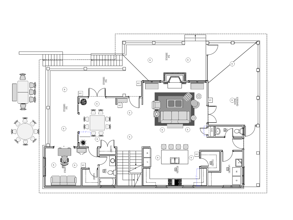 Need Some Advice On In Ceiling Speaker Placement Background Music Wiring Home Speakers Avs Forum Theater Discussions And Reviews