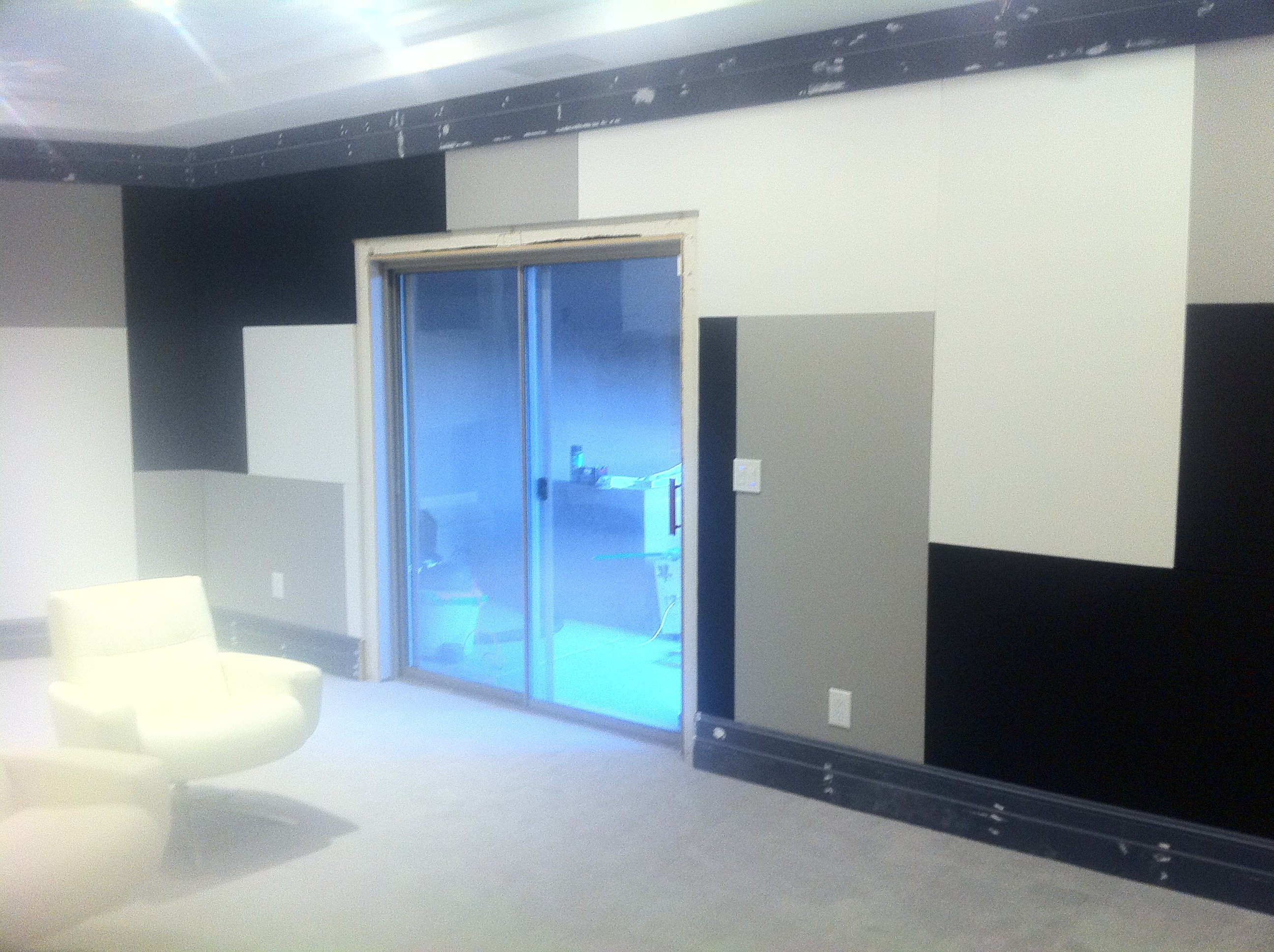Nice How To Cover/conceal Sliding Glass Door To Home Theater   AVS Forum | Home  Theater Discussions And Reviews
