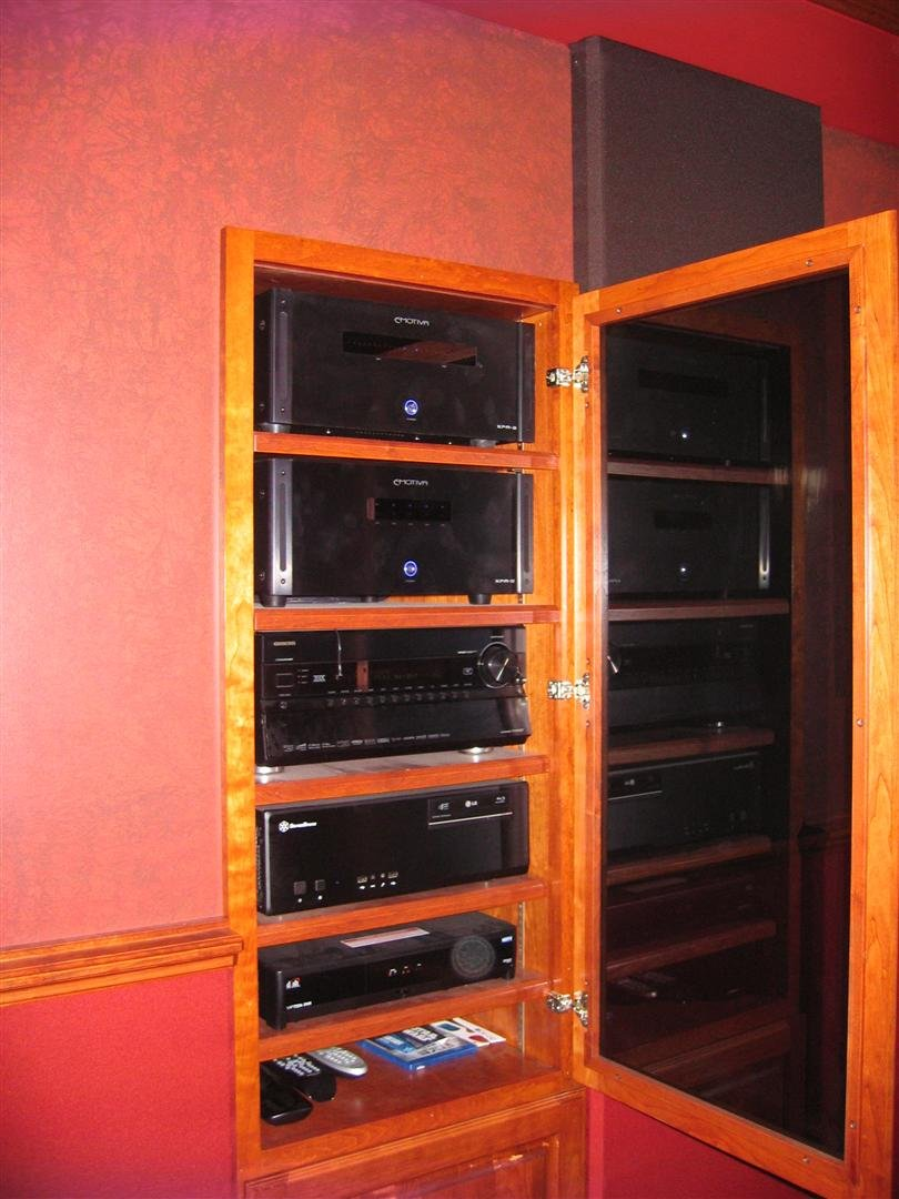Help With Av Closet Rack Through Wall Design Avs Forum Home Theater Discussions And Reviews