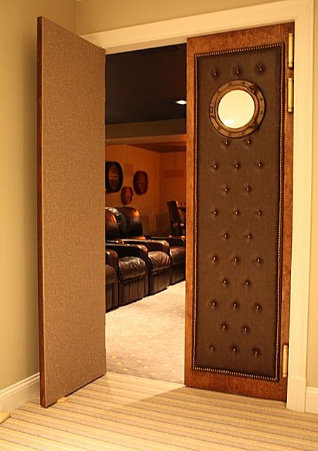 Hereu0027s another tufted design & door entrance pics please - Page 2 - AVS Forum | Home Theater ...